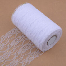 22M Organza Lace Roll Fabric Wedding Party Decor Chair Bows Table Runner Sash