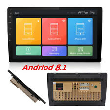 "9"" Car Android 8 1080P 2Din Touch Pad Quad-Core Stereo Radio GPS Wifi Blueteeth"