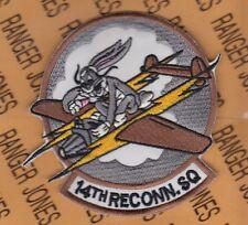 "USAF Air Force 14th Reconnaissance Squadron RS 3.75"" pocket patch"