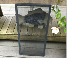 "Screen Cover For Aquarium/Reptile/Amphibia n~10 Gal. Size 20"" x 10""~Blk Metal"