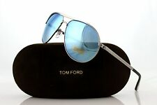 JAMES BOND 007 SKYFALL Azure Mirror TOM FORD Aviator Marko Sunglasses TF 144 14X