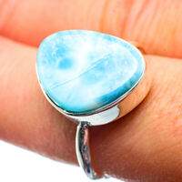 Larimar 925 Sterling Silver Ring Size 8.75 Ana Co Jewelry R39779F