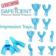 Dental Impression Trays Upper Lower Quadrant Anterior All Sizes 12bag