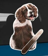 Springer Spaniel Rear Car Window Sticker With Wagging Tail To Fit On Wiper Arm