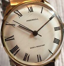 Working vintage watch INGERSOLL Wristwatch Manual Mechanical Wind Cal 612 Watch