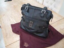 Mulberry Maggie Large Black Leather Shoulder Bag - Serial No 603537 + Dust Bag