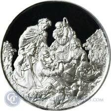 1 oz Merry Christmas .999 Silver The Nativity Scene Proof Like Finish