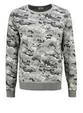 **55% OFF!!** LEE Camo Pattern Sweatshirt / M / 100% Cotton / RRP £80