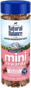 Natural Balance L.I.D. Limited Ingredient Diets Mini Rewards Dog Treats, 5.3