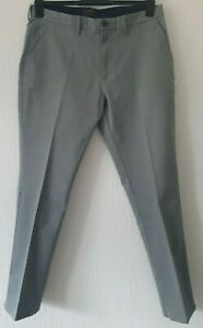"""M&S SLIM FIT CHINO STYLE TROUSERS BUTTON ZIP FASTENING 36"""" WAIST 31"""" INSIDE LEG"""