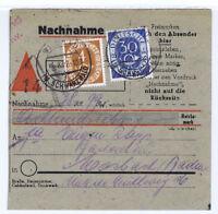BUND, Mi. 124, 132, NN-Wildbad im Schwarzwald, 5.8.52