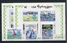 Honduras 1564/66 Block 68 A + B postfrisch / Olympiade + Fußball .........1/1518