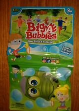 NEW Zing Big-A-Bubble Make Bigger Bubbles with Solution  1 Package for 3+