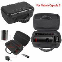 Travel Hard Carrying Case Protective Storage Bag Organizer For Nebula Capsule II