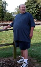 Adult Tee 100% ctn Big & Tall sizes 4 XLT to 8XLT. With & without pockets. USA