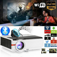 New listing Caiwei Led Smart Hd Android Projector Wifi Home Theater Movie Youtube Netflix Bt