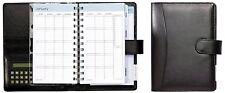 Daily Planner Calendar Organizer PlanAhead Runner Desk Pocket Binder Calculator