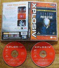 ALIENS versus vs PREDATOR 1 AVP Gold Edition PC CD-ROM-V.G. C +