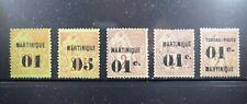 Martinique Scott 5//21 Mint/Unused Selection 1886-1891