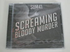 SUM 41/SCREAMING BLOODY MURDER(ISLAND 602527400877) CD ÁLBUM