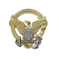 Coast Guard Badge Mini Command at Sea  NEW  (USCG Issue)