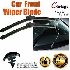 Pair Frameless Car Wiper Blades Refill For Ford Falcon BA BF XR6 & XR8 2002-2008