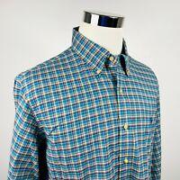 Polo Ralph Lauren Mens XL Recent Label Casual Shirt Green Plaid Button Down