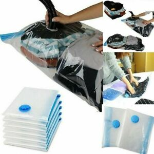 Large Strong Vacuum Storage Bags Compress Savers Space Saving Compressed Bags