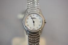 Ebel Classic Damenuhr Diamanten Perlmutt 23mm Quarz NEU & OVP 1215421 UVP 2800€