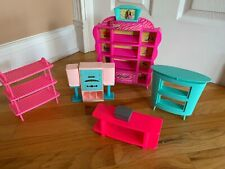 Barbie Furniture Mixed Lot. Chic Shoe Store, Stereo Set, Other Pieces