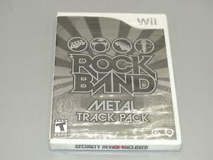 Rock Band: Metal Track Pack - Nintendo Wii  **NEW FACTORY SEALED*