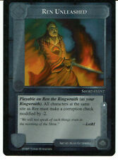 MIDDLE EARTH THE THE LIDLESS EYE RARE CARD REN UNLEASHED grade 9/10