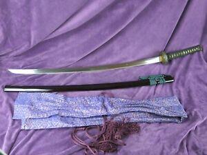 BIZEN TACHI 100,3 cm- antique sword Katana Samurai Japanese fuchi seppa saya edo