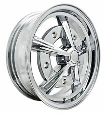EMPI Raider Rim 5 X 15 Chrome wheel VW bug Type 1 2 3