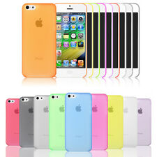 NEW 0.3mm Ultra Thin Hard Shell Matte Snap On Cases Cover For Apple iPhone 5C