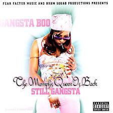 Gangsta Boo - The Memphis Queen Is Back Three Six Mafia Rare Memphis