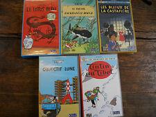 Le trésor de Rackam Le Rouge les bijoux de la Castafiore Tintin au Tibet / 5 VHS