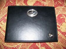 Rare Aaron Basha Ladybug Photo Album, Black Leather, Sterling Silver, 30 pages