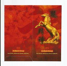 AMBANK YEAR OF HORSE  ANG POW RED PACKET x 2pcs