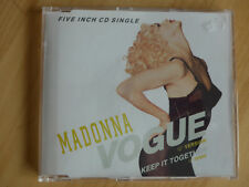 Madonna --- VOGUE --- CD Maxi