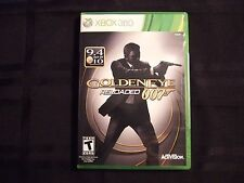 Replacement Case (NO GAME) GOLDEN EYE 007 RELOADED XBOX 360