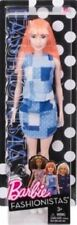 "New in Box Barbie Fashionistas #60 With Orange Hair & Blue Dress 12"""