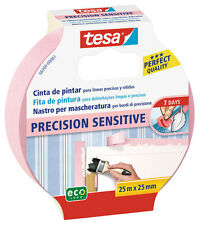 tesa® Nastro per Mascheratura contorni PRECISION SENSITIVE carta parati 25mX25mm