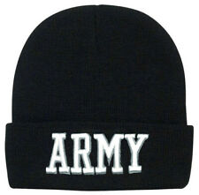 watch cap winter hat us army embroidery rothco 5445