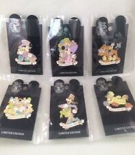 6 WDW Disney Rare and Limited Edition Pins of 2003 Happy Easter Characters!