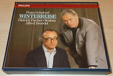 SCHUBERT-WINTERREISE-1ST ISSUE WG CD 1986-FULL SILVER INNER RING-BRENDEL/DIESKAU