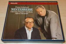 SCHUBERT-WINTERREISE-1ST ISSUE WG CD 1986-FULL SILVER INNER RING-BRENDEL/DIESKAU