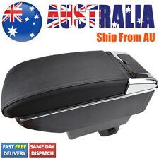 Leather Armrest Central Console Box For Suzuki Swift 2005-2020 Dual Console
