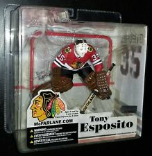 McFarlane NHL Legends TONY ESPOSITO Chicago Blackhawks Figure