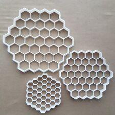 Honeycomb Bee Hexagon Shape Cookie Cutter Dough Biscuit Pastry Fondant Sharp